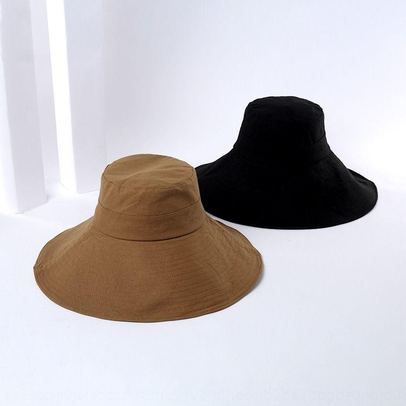 15 centimetri grande all'orlo copertura secchio pescatore donne del bacino Li tutto-fiammifero cappello da sole Cappello per il sole