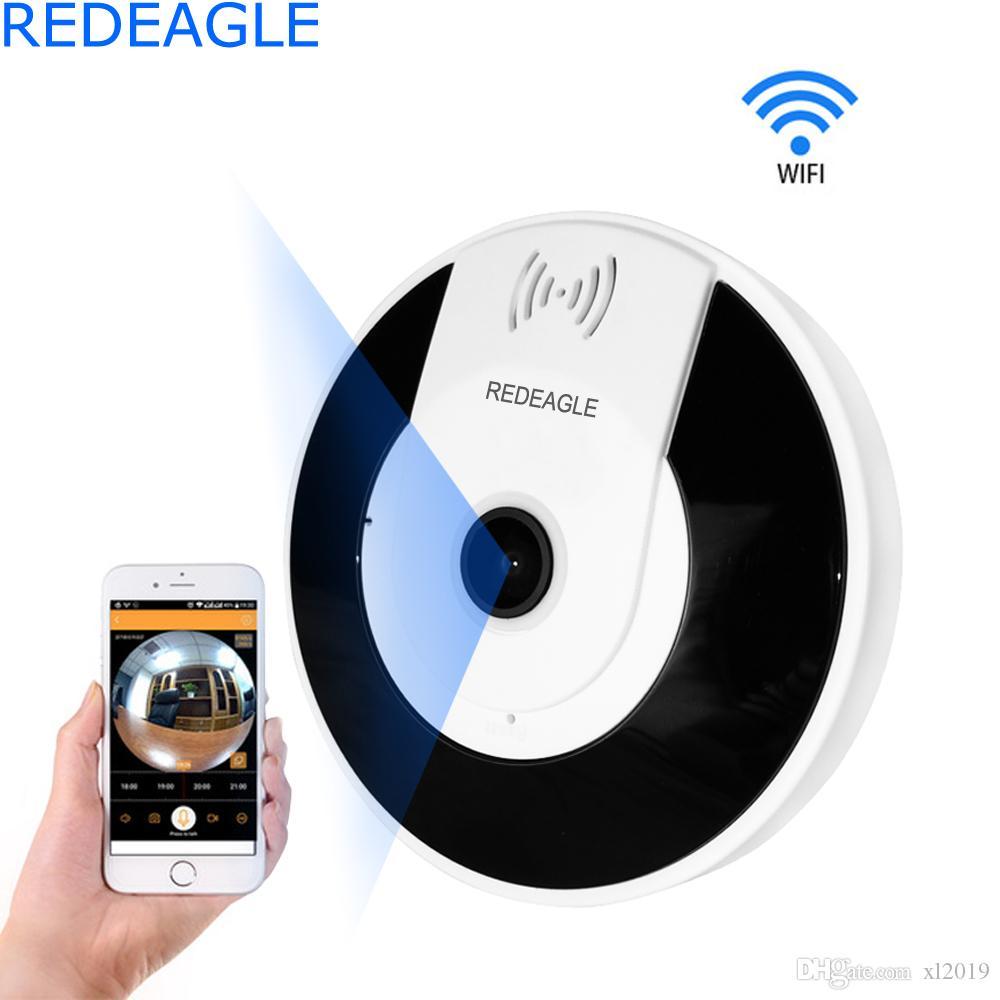 1080P 3D IP Wi-fi Camera Dome Fisheye Baby Monitor Panorama HD 2MP/1.3MP Wireless wifi CCTV Smart Security Cameas