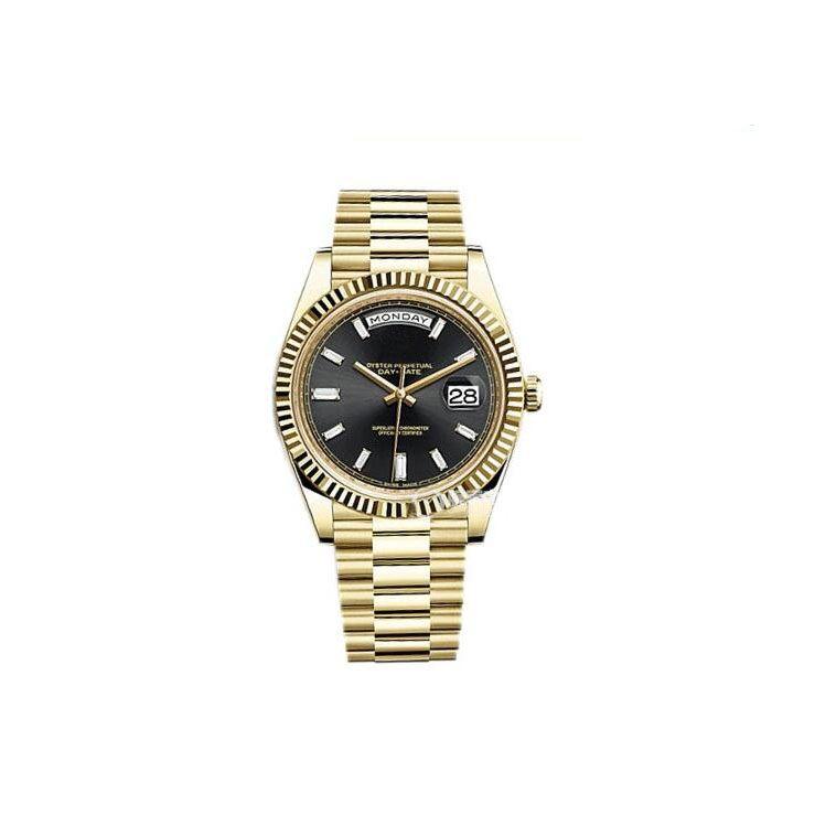 Fábrica Hot Sale Men Watch Sub apenas 41MM Dial vidro de safira de aço inoxidável 316L data Strap automática relógio de pulso movimento mecânico