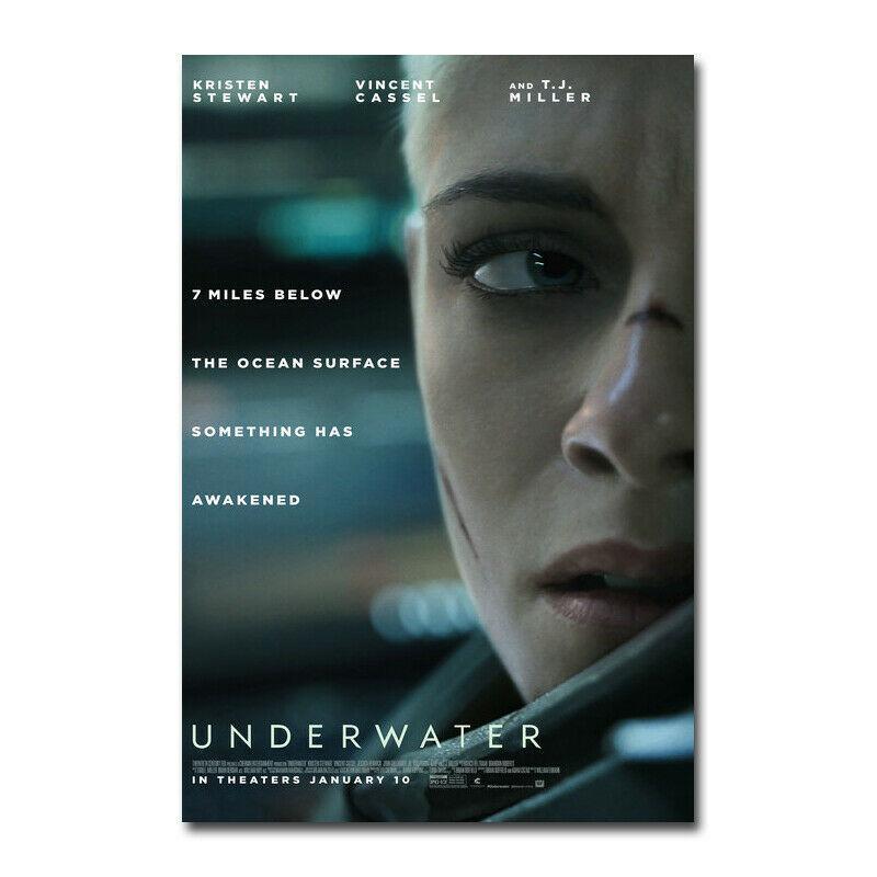 Unterwasser Hot Movie Art Seide Möbel Bar Familie Wanddekoration heißen Verkauf beliebte Poster 253