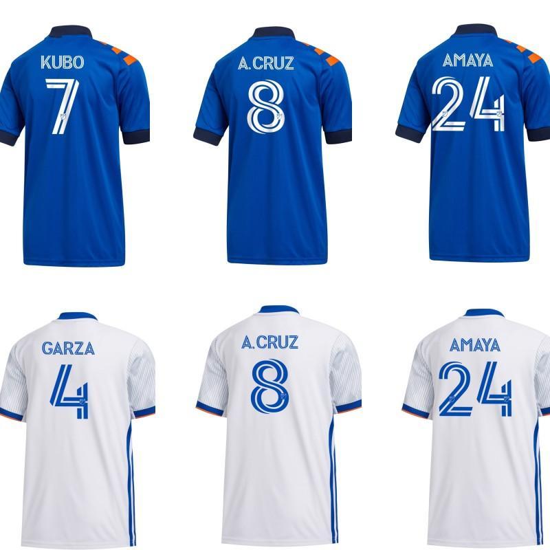 2020 cincinnati futbol forması çocuklar erkekler ev deplasman forması GARZA ADI KUBO A.CRUZ Waston BERTONE futbol forması
