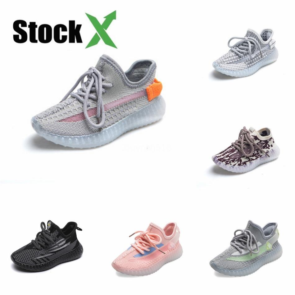 2020 Kanye West 380 Mist Reflective Alien Supcol Pepper Kids Running Shoes With Box Top Quality Designer Sneakers Outdoor Sport Shoes #638