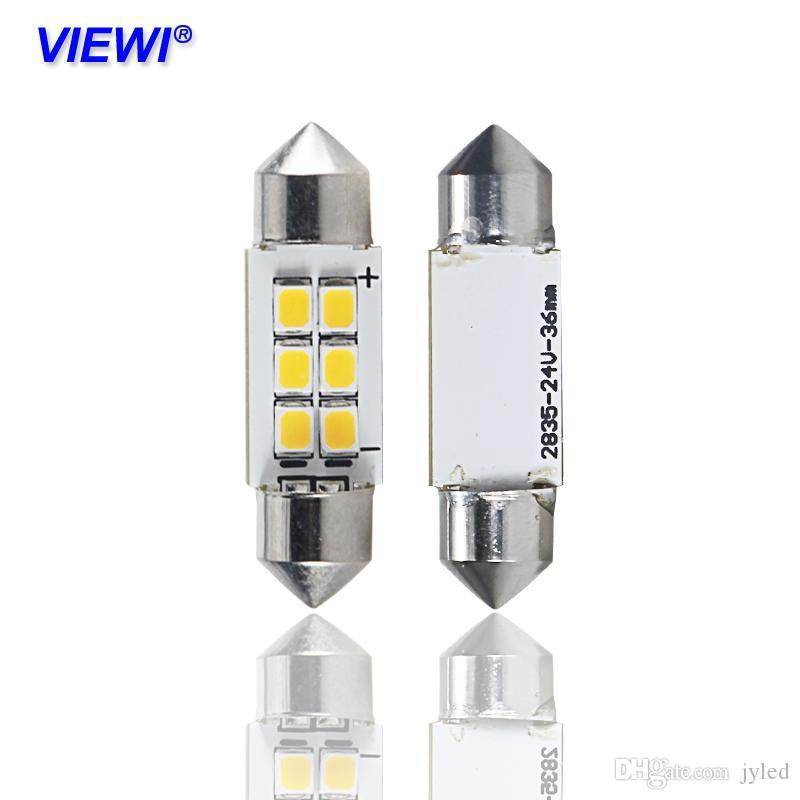 Led Festoon 36mm 24 Volt Lights C5w Canbus Warm White Car Dome Interior Lamps 24v Auto Map Roof Reading Bulb Light H7 Led Headlight Bulbs Led 3 Way