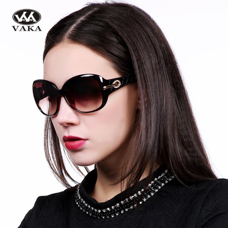 Forma retro gafas de sol clásicas de las mujeres oval mujeres Femenino Polarize Brand Sunglaasses por no ventas ganancias