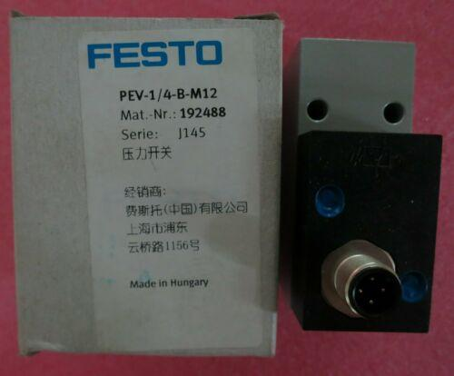 1pcs tout nouveau FESTO PEV- 1/4-B-M12 192488 UN AN