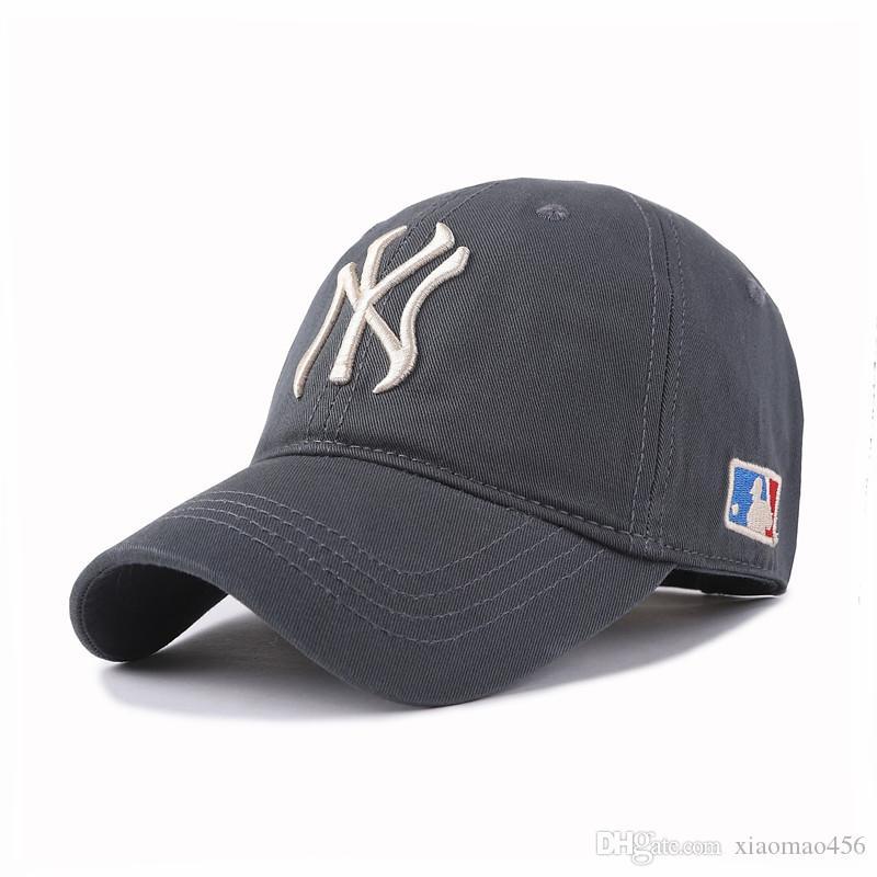 2019 nuovo modo NY baseball CapsEmbroidery Hip Hop ossee Snapback cappelli per gli uomini donne registrabili all'ingrosso Gorras Unisex Cap