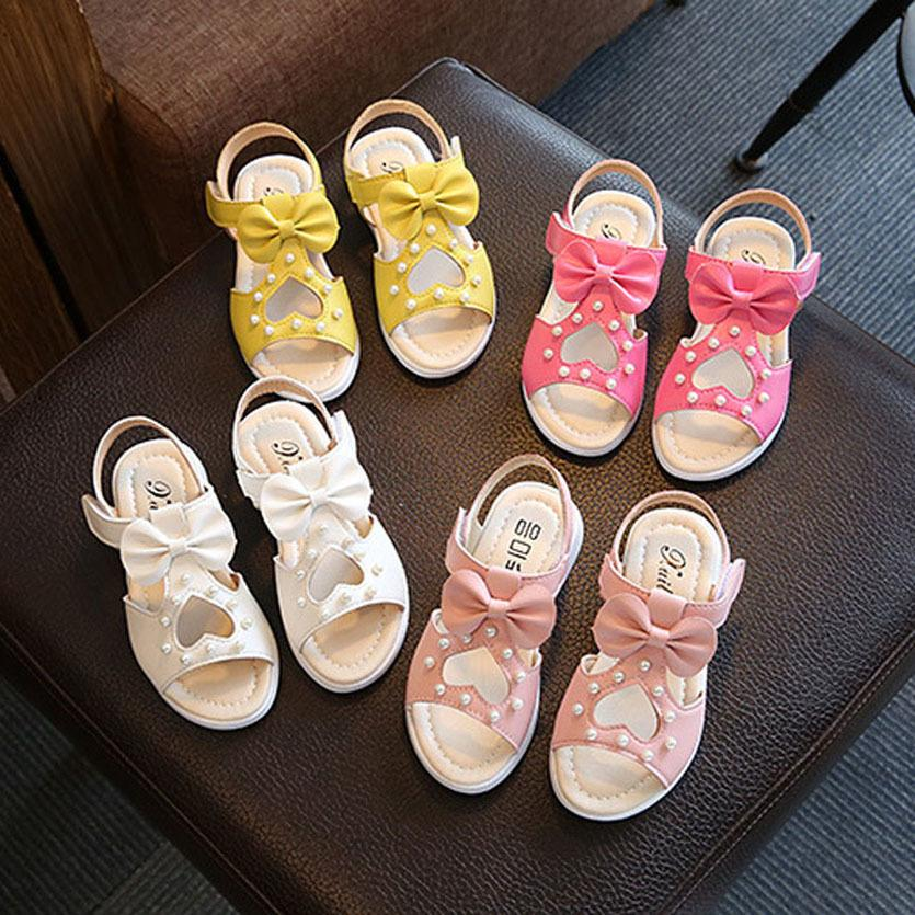 Children Shoes Girls Roman Style Shoes Summer Girls Sandals Princess Flowers Kids Sandalen Meisje Toddler Girl Shoes CX200629