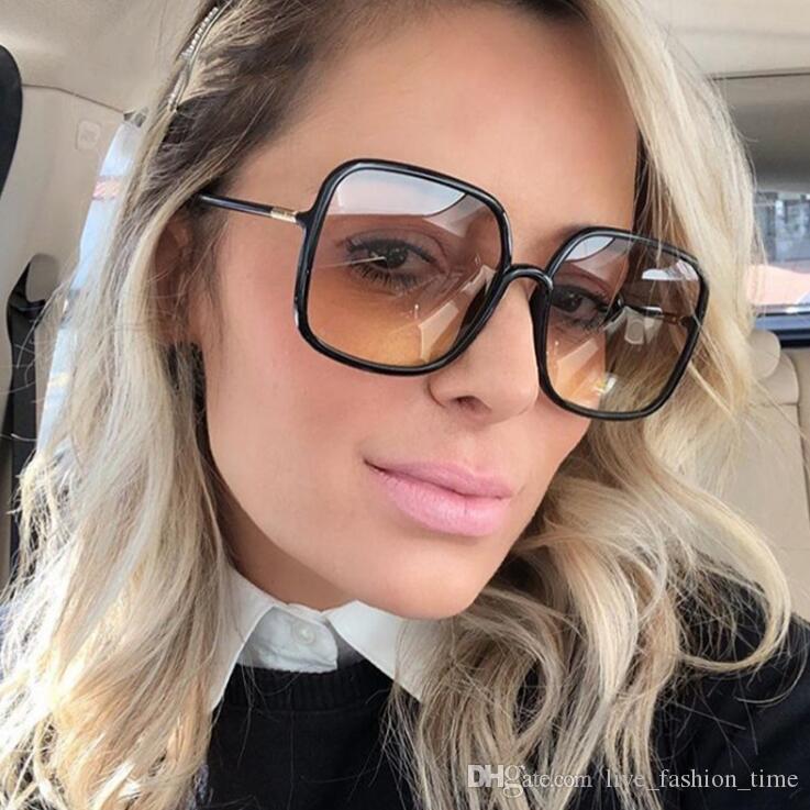 2020 Урожай Негабаритные площади Солнцезащитные очки Женщины Brand Designer очки Мода Leopard Рамка Прямоугольная Солнцезащитные очки UV400 Ретро Оттенки 60мм