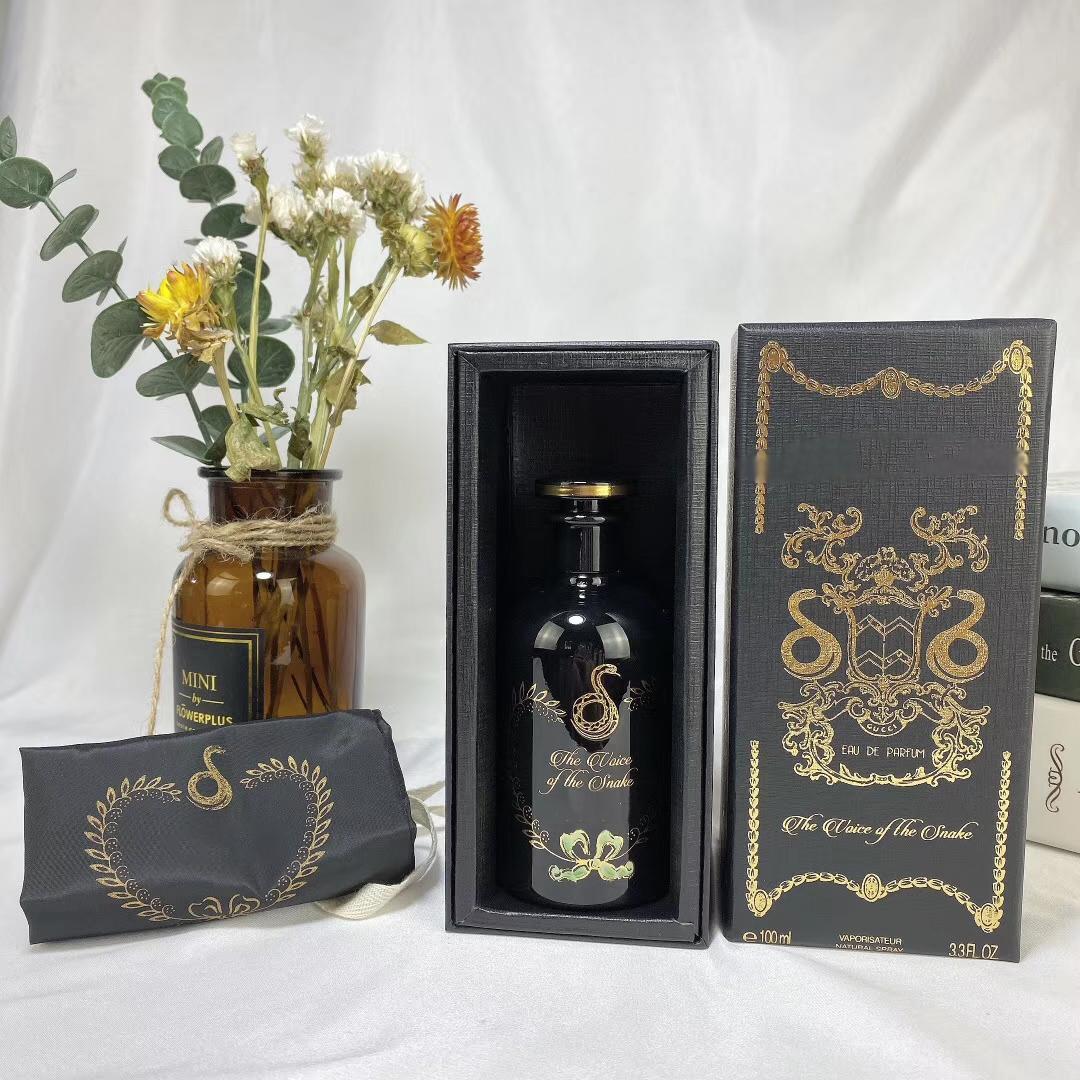 ssBest Verkaufs Damen-Parfüm Herren Düfte Der Alchimist Garten-Die Stimme der Schlange Floral Woody Moschusduft Agarwood 100ML EDP