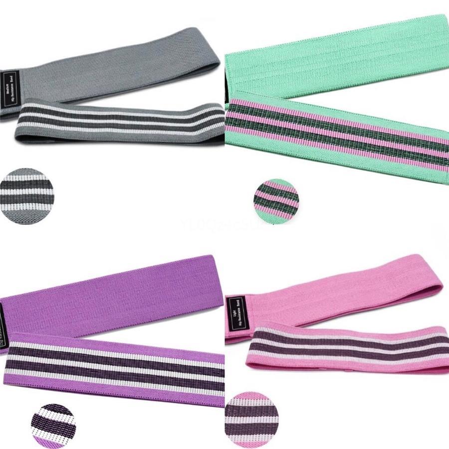 Hot-Yoga Bandas de resistência com correias do tornozelo Cuff com cabo Exercício da aptidão Banda Rubber laço Bandas tubo Gym Porta Anchor tornozelo S # 590