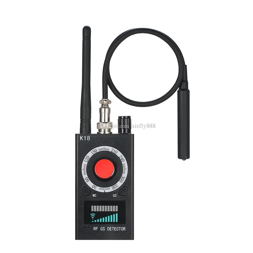 K18 متعددة الوظائف للكشف عن كاميرا كاميرا GSM علة الصوت الباحث GPS عدسة إشارة RF المقتفي الكشف عن منتجات لاسلكية