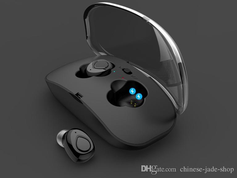 TWS Cuffie senza fili Auricolari Bluetooth Cuffie X18 Cordless Cuffie Vivavoce Auricolari Sport Auricolari Con Microfono 30 pz / lotto
