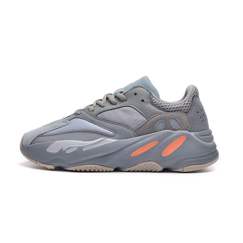 Neue 700 Wave Runner Mauve Inertia Herrenschuhe Kanye West Designer Schuhe Männer Frauen 700 V2 Static Sports Seankers Größe 36-45 # 047657 # # DSK288