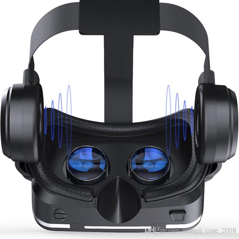 VR Virtual Reality lunettes de lunettes 3D 3D Casque Casque pour iPhone Smartphone Android Smart Phone Stereo 52