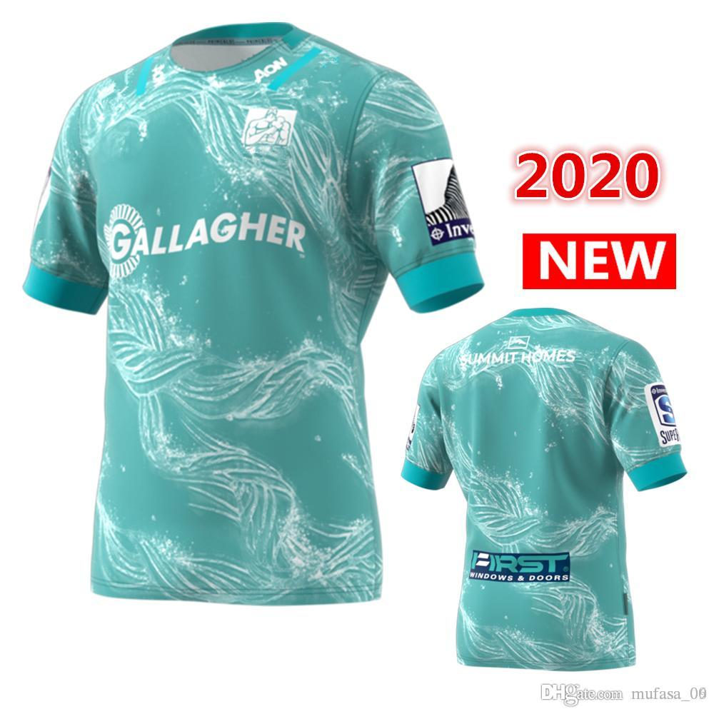 2020 c hiefs Crusaders Primeblue Super Rugby Away Jersey 2020 New Zealand home Rugby Jerseys shirt Hurricanes HOME rugby Jersey