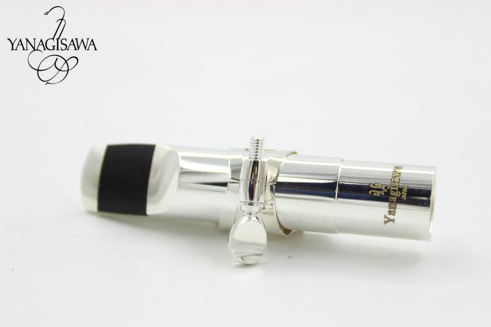 YANAGISAWA Metal Silver Plated Saxophone Musical Instrument Accessories Mouthpiece For Alto Tenor Soprano Saxophone No 5 6 7 8 9