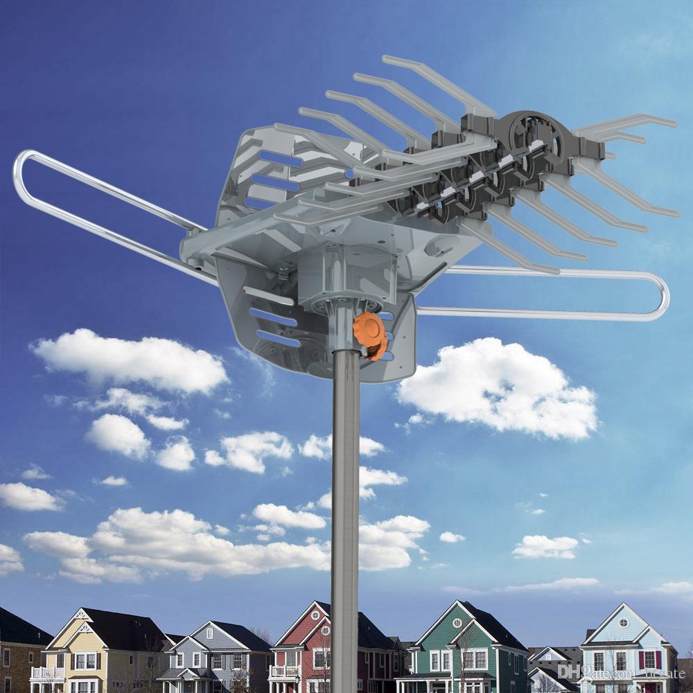 1080P Открытый Дальнодействующий ТВ антенны HD TV Усиленный 28-36dB 360degree Digital Signal Antenna Guide ласточкин без подставки Корабль из США