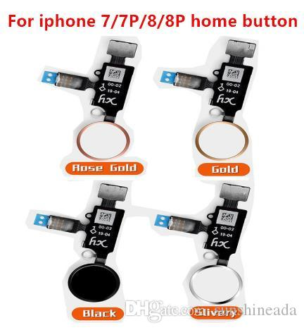 2019 New Design Universal YF Home Button For IPhone 7 8 7 Plus 8 Plus Flex Cable Restore Ordinary Home Button Return Functions
