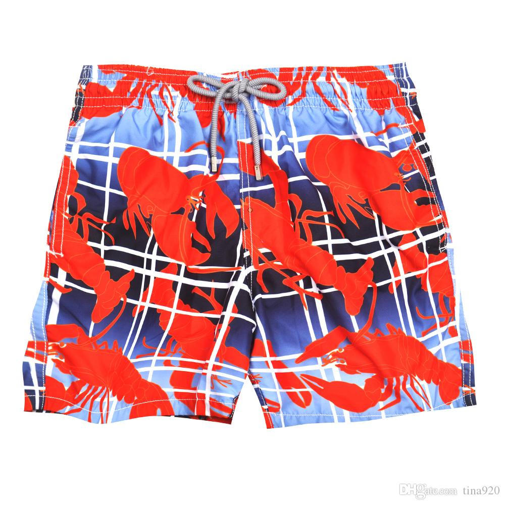 Mixed colors Brand Turtle Printed Men's Beach Board Shorts Bermuda Mens Swimwear Board shorts Quick Dry Sports Boxer Trunks Shorts Swimsuits