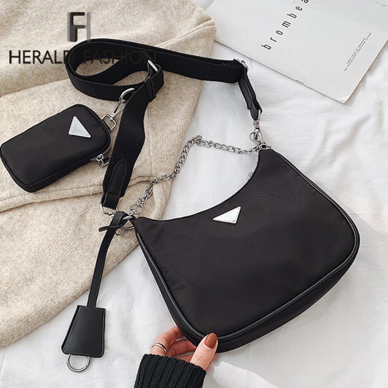 2020 Nouveaux Messenger chaud sac en toile de dames Sacs à main Femme célèbre Crossbody Rétro fourre-tout et sac à main Casual