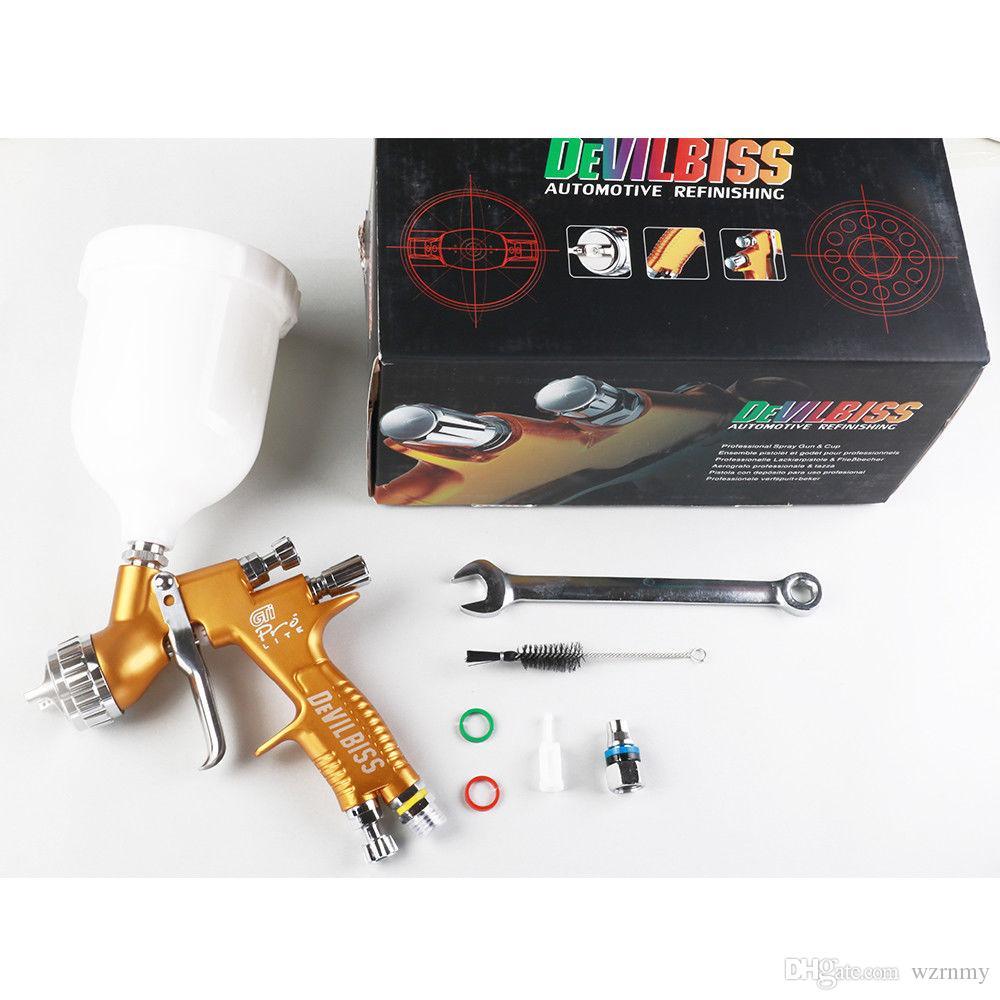 DeVilbiss Replacement Paint Spray Gun GTI Pro Lite 1.3mm TE20 Car Refinishing