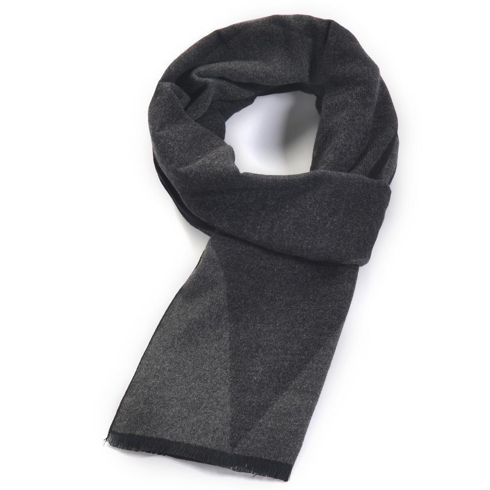 Fashion-Nuova sciarpa di cachemire degli uomini di stile di moda trapuntato lungo autunnali e invernali serie caldo plaid pettorina regalo di Natale
