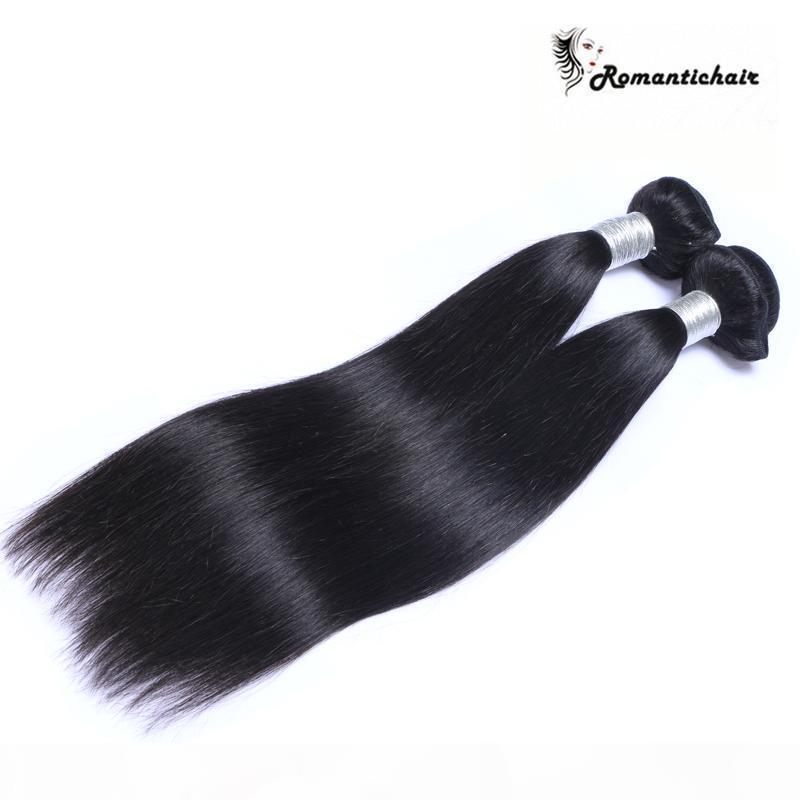 Vierge Brésilienne Cheveux Malaisiens péruvienne Cambodgien Indien Non Transformés droite de Cheveux Humains Bundles 9A Meilleure Qualité Cheveux Armure