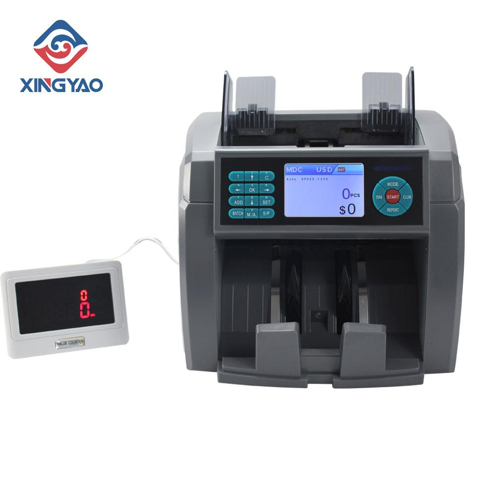 2 BDT Mix Değer sayacı XD-700 Sahte Para sıralama ve Yüksek hassasiyet Akıllı Para Sayaç Dedektör Makinesi tespit
