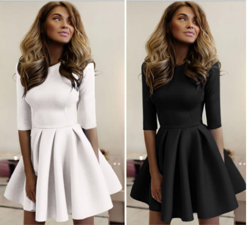 women Sexy & Club dress Europe and the United States autumn new hot selling tight wrinkled wavy dress