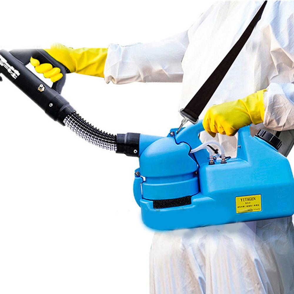110V / 220V 7L électrique ULV à froid Fogger insecticide Atomiseur ultra faible capacité de désinfection Pulvérisateur tueur de moustique U froid Brumiseur
