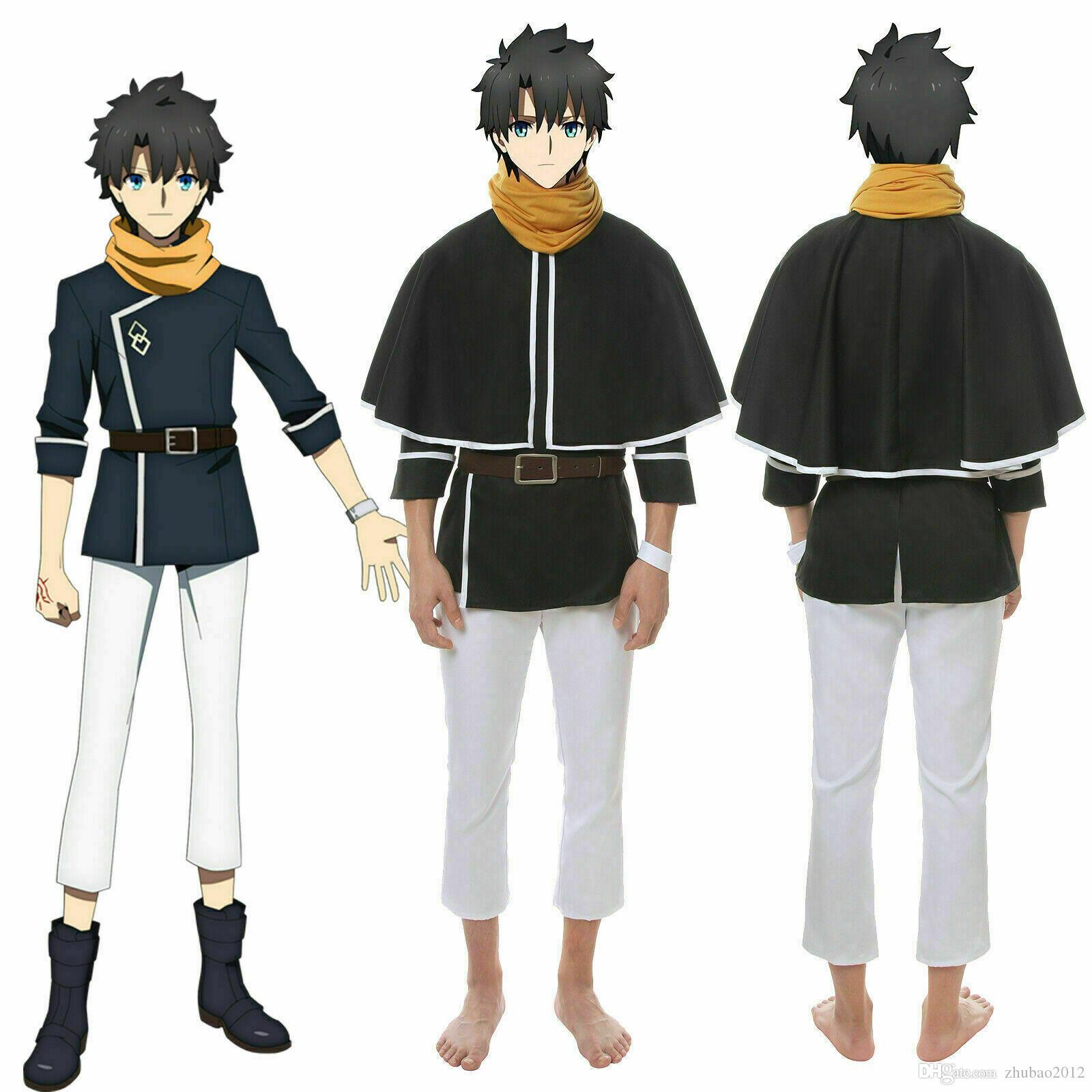 Fate Grand Order FGO Fujimaru Ritsuka Cosplay Costume Full Set Custom Made