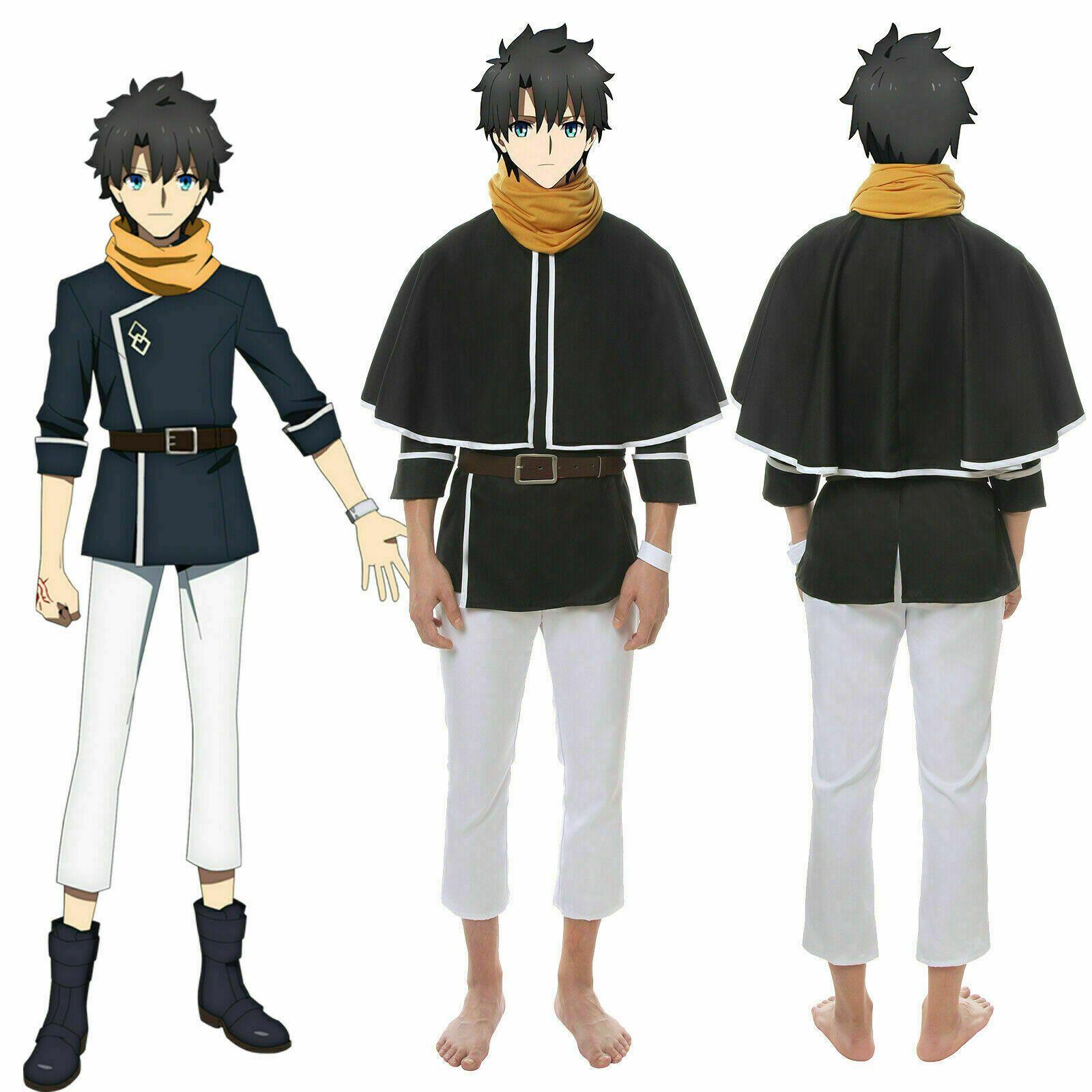 Cosplay FGO Destino Grande Order Fujimaru Ritsuka Outfit Conjunto completo