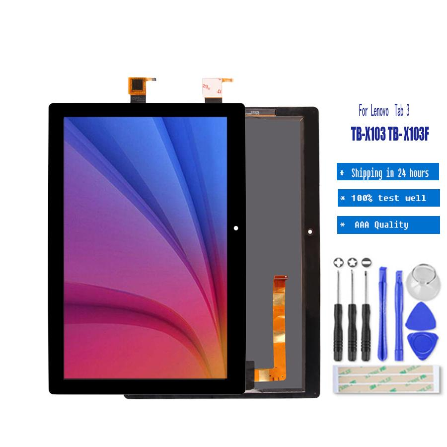 10.1 inch Touch screen Digitizer Assembly LCD Display For Lenovo Tab 3 10 Plus TB-X103F TB-X103 TB X103F TB X103 Screen