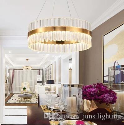 Vintage Crystal Chandelier Lighting Candle Chandeliers RH Pendant Hanging Light for Living and Dining Room Decor LED lamp