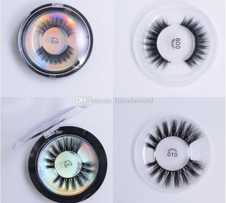 Mink Lashes 3D Silk Protein Mink False Eyelashes Soft Natural Thick Fake Eyelashes Eye Lashes Extension Makeup 28 Styles Lashes in Stock