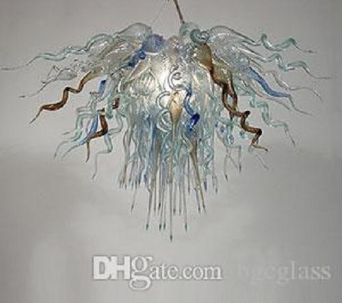 الصين مصنع، منفذ اليد في مهب زجاج الثريا ضوء الحديث اضحة وضوح الشمس زجاج مصابيح قلادة الايطالية تصميم زجاج مورانو الثريا