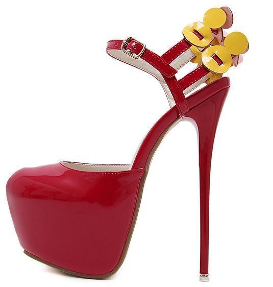 Envío libre 2018 del dedo del pie La nueva ronda de moda del estilete de los tacones altos de la plataforma de la flor verano de las mujeres Bombas personalizada boda sandalias Zapatos grandes Tamaño OL