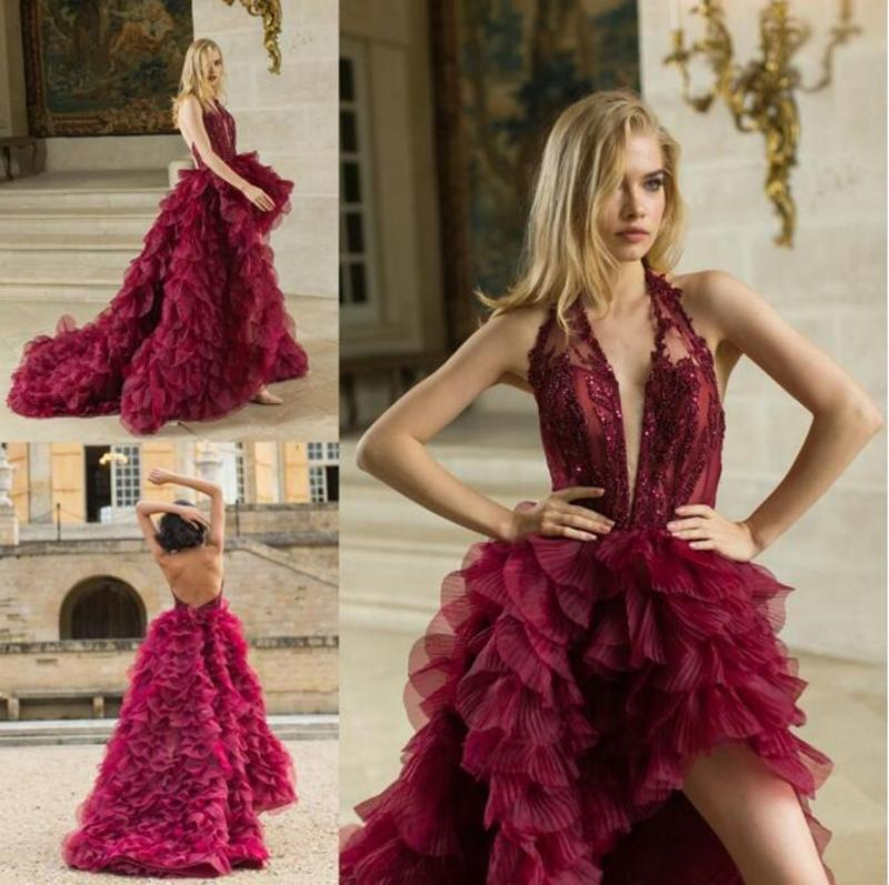 Dubai Abaya Kaftan Kleider Burgundy New Prom Dresses Glitz Pageant Dresses for girls Special Occasion Elegant Evening Gowns Robes de soirée
