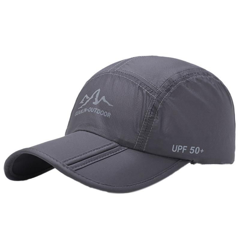 Nuevo Gorro plegable de secado rápido ultrafino Hombres Mujeres Sombrero de sol de verano Sombrero de protección solar de viaje Sombreros de red de montaña plegables