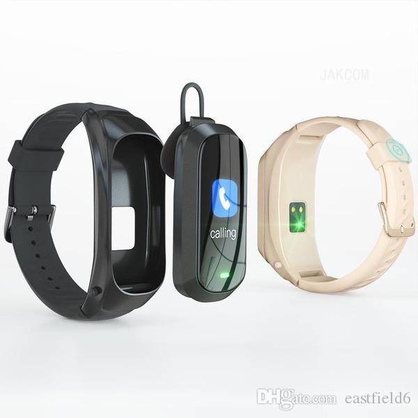 Rus sikke televizyon pulseira olarak Kulaklıklar Kulaklık JAKCOM B6 Akıllı Çağrı İzle Yeni Ürün