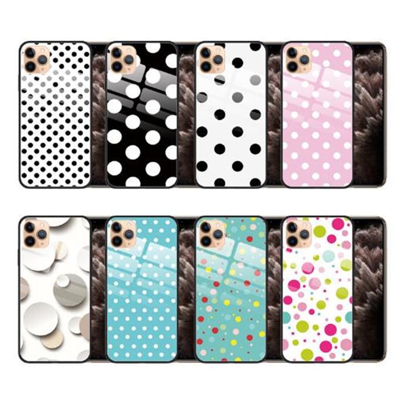 Pour iPhone 11 Pro Max 8P Designer Glass Phone Case Cover antichocs Coque de protection pour Samsung S10 Note10P OEM Support
