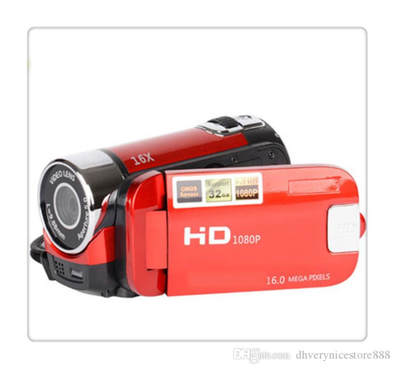 Digital Video Camcorder Camera 16MP High Definition Camera 1080P 2.7 Inches TFT LCD Screen 16X Zoom US Plug Digital Cameras