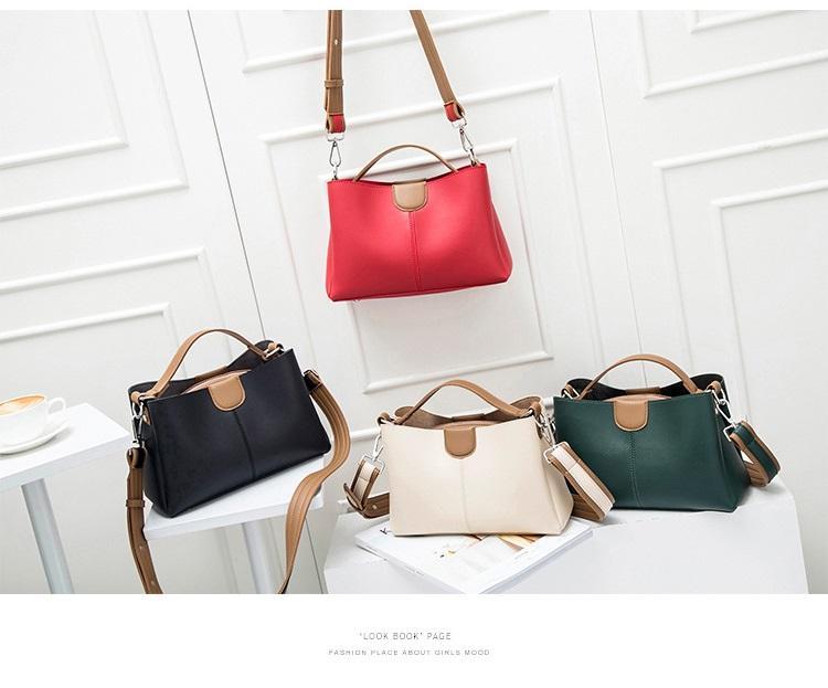 2020 nova moda simples bolsa de moda temperamento bateu no ombro de cor bolsa de mensageiro saco fêmea selvagem clássico