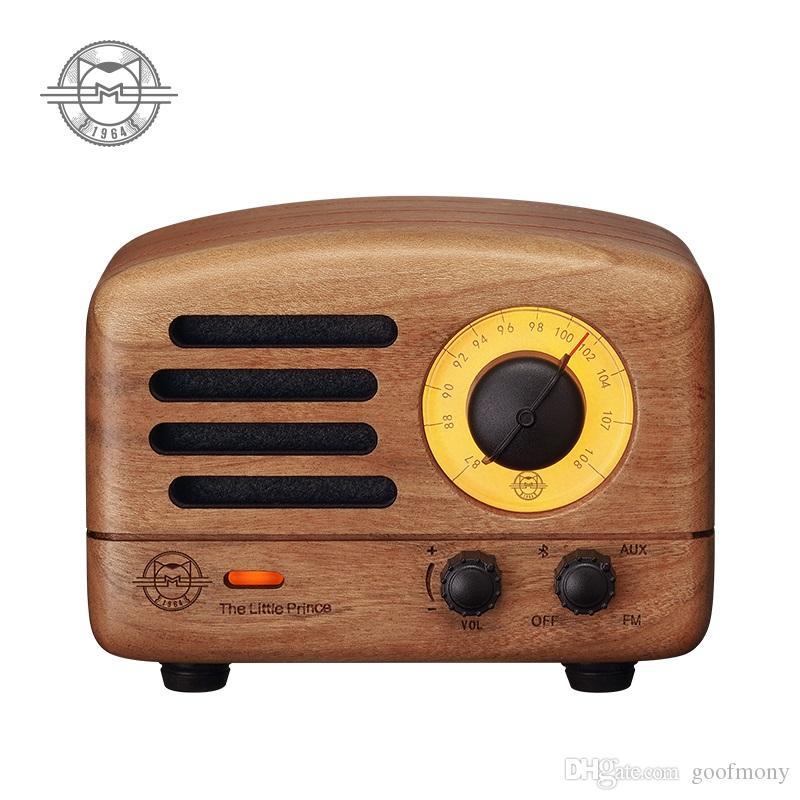 Original catKing Bluetooth Lautsprecher MW-2 / MW-2I Der kleine Prinz FM Radio Handgemachtes Holz Retro Kunst Geschenk für gutes Geschenk