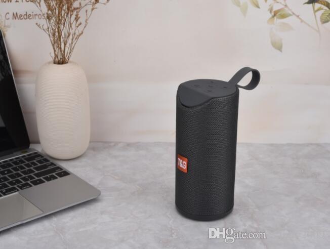 Altavoces inalámbricos Bluetooth Nueva TG113 altavoz manos libres subwoofers del perfil de llamada estéreo Soporte de graves USB TF Bass