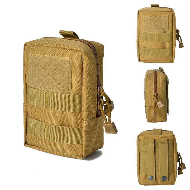 Hüfttasche Tactical Kleine Hüfttasche mit Tasche Multifunktionale tragbare Telefon-Beutel Außenfeldarmee Fan Ausrüstung Commuting Bag
