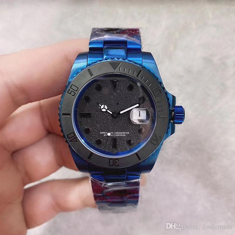 2020 новый стиль U1 Fatory SUB механизм с автоподзаводом мужские часы сапфировое стекло нержавеющая сталь 316 ремешок часы