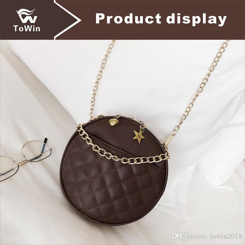 New Women Designer Handbags Crossbody Bag Classic Circular Style Fashion Shoulder Bags Women Sling Bag Lady Totes Handbags Purse Wallet