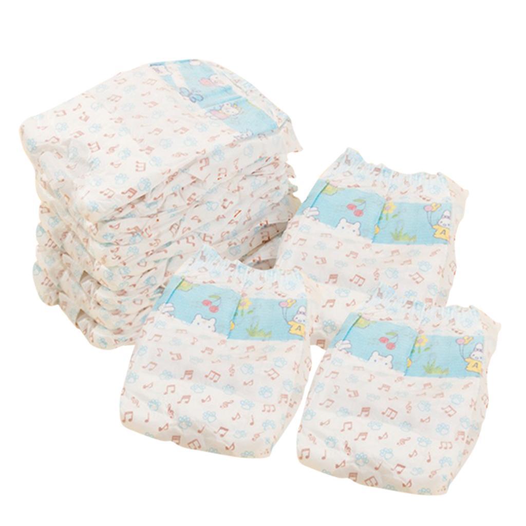 Lot de 10 chien jetable Diapers Homme Sous-vêtements Chienne Diapers