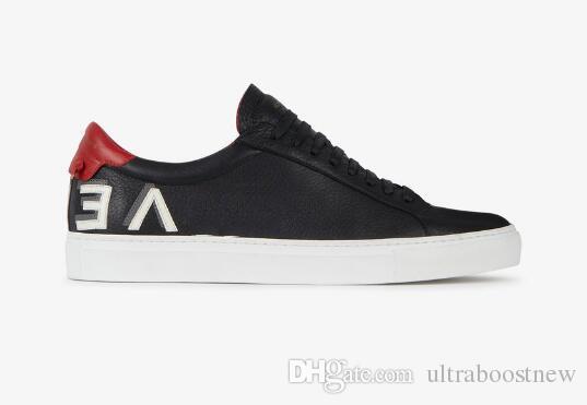 Design di lusso in pelle sneaker uomo migliori scarpe di design in vera pelle 4 colori Suola in gomma marca casual sconto donna moda scarpe vendita 35-46